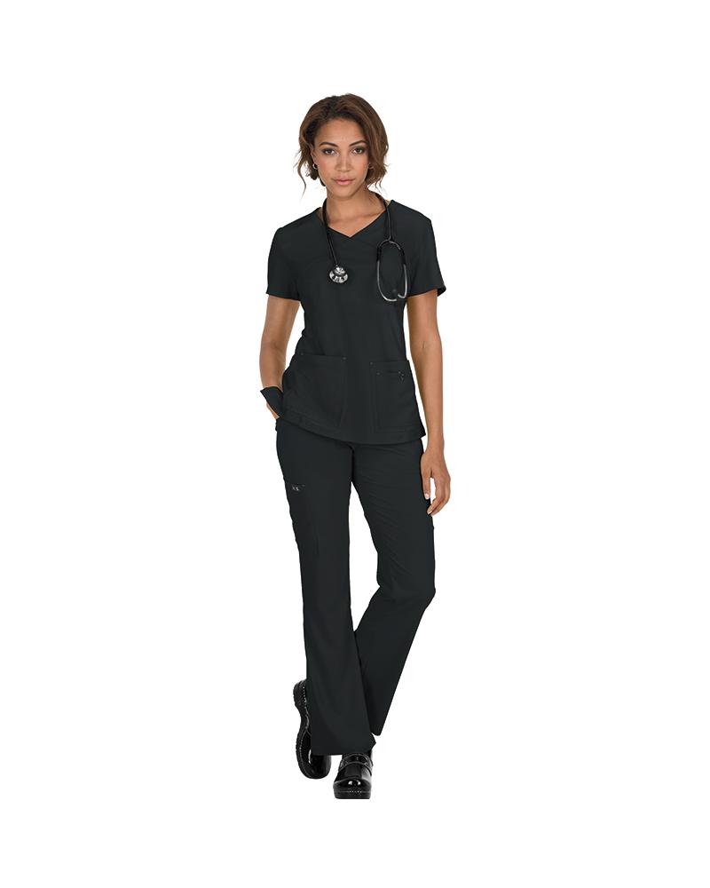 Pantalon Sanitario LINDSEY clásico mujer fucsia