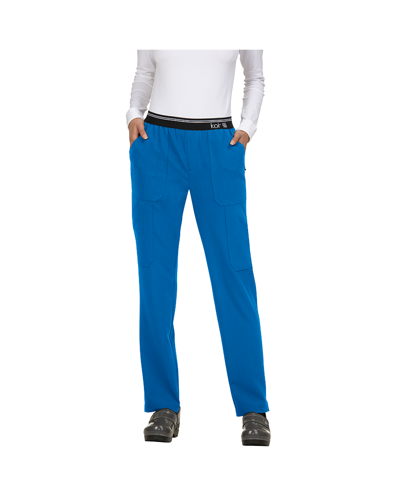 Uniformes Casaca Sanitaria BECCA azul electrico