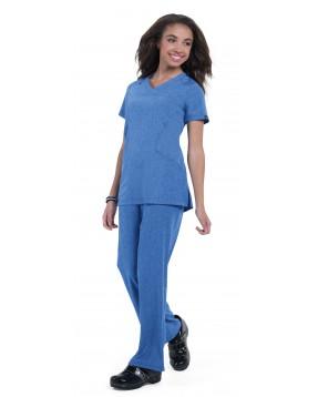 Casaca sanitaria comoda azul