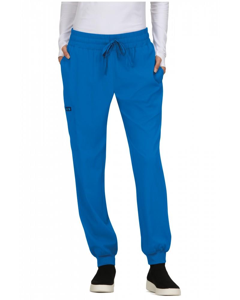 pantalon jogger azul rey