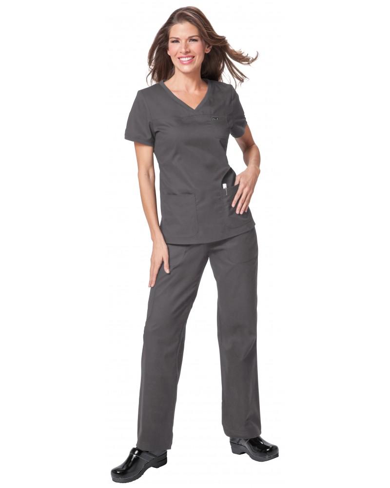 Pantalón jogger sanitario gris