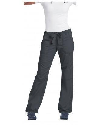 Ropa Sanitaria LINDSEY   pantalón clásico mujerCOLOR VERDE SAGE