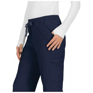 Pantalones sanitarios tallas grandes color navy