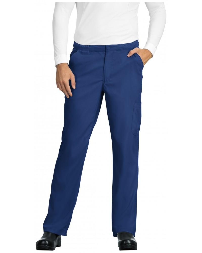 Pantalón Sanitario Hombre azul galaxia