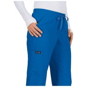 Pantalones sanitarios tallas grandes color azul rey