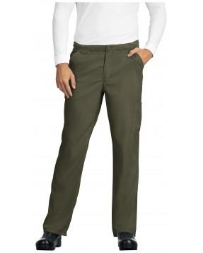 Pantalón Sanitario Hombre verde oliva