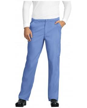 Pantalón Sanitario Hombre azul celeste