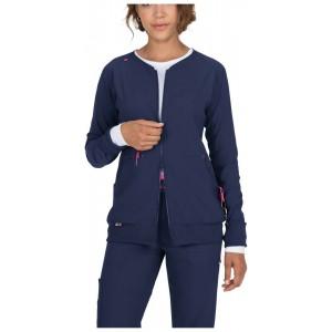 chaqueta sanitaria azul marina