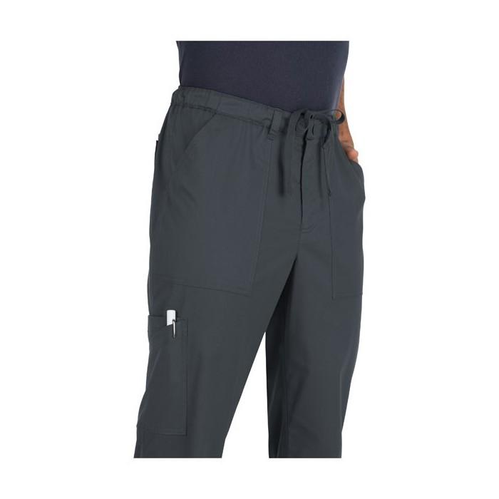 pantalones para medicos gris