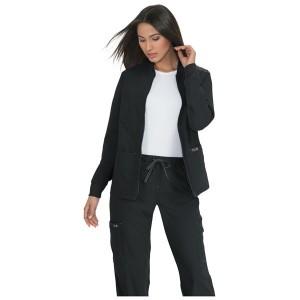 Ropa sanitaria chaqueta negra