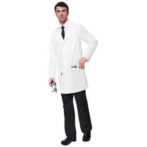 bata de laboratorio para hombre blanca