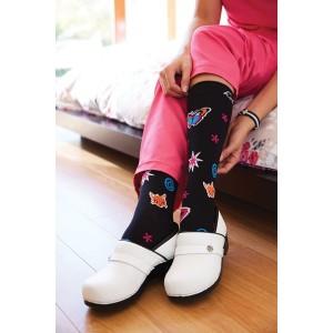 calcetines de compresión para enfermera