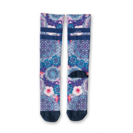 Calcetines Compresion MUJER FLORES
