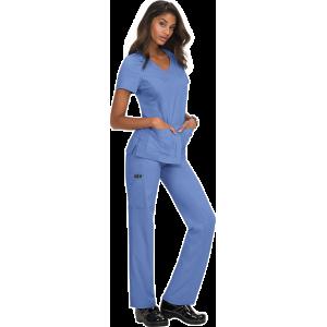 Pantalones sanitarios tallas grandes color azul celeste