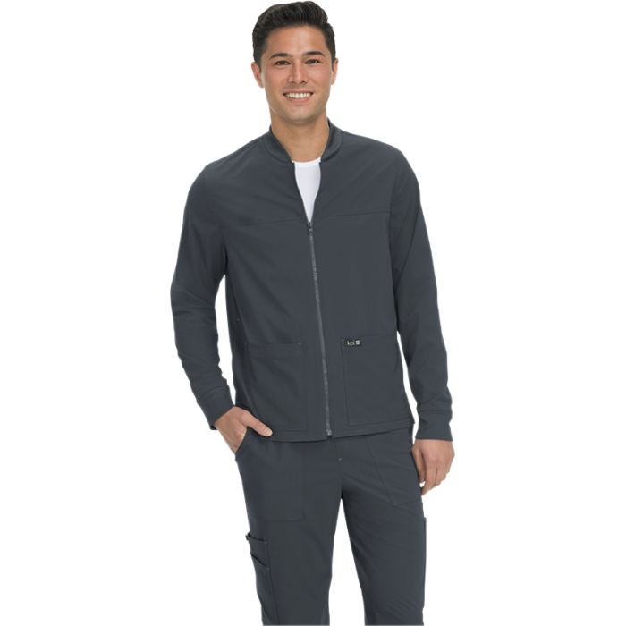 chaqueta sanitaria color gris