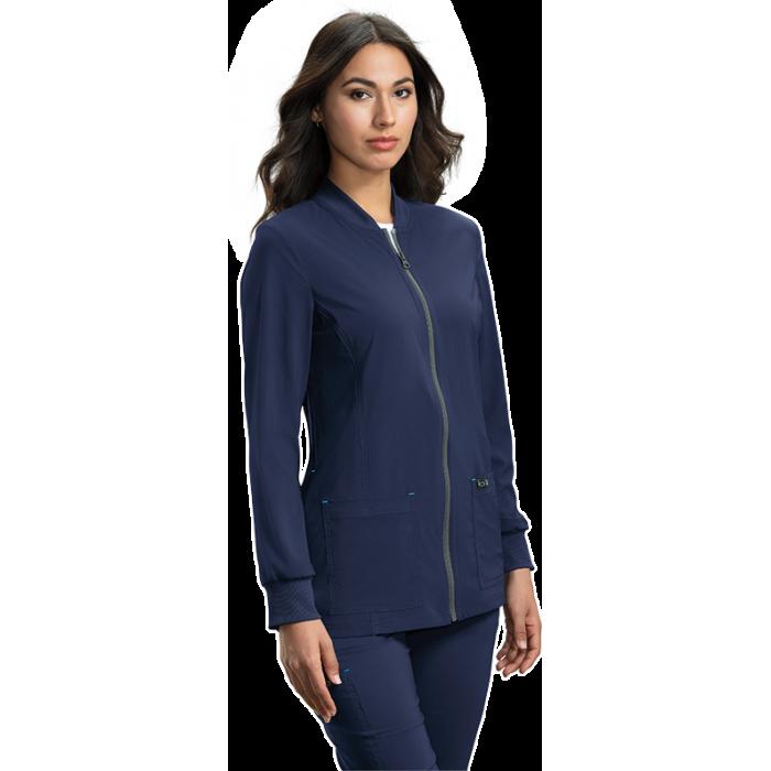 chaqueta sanitaria mujer  azul