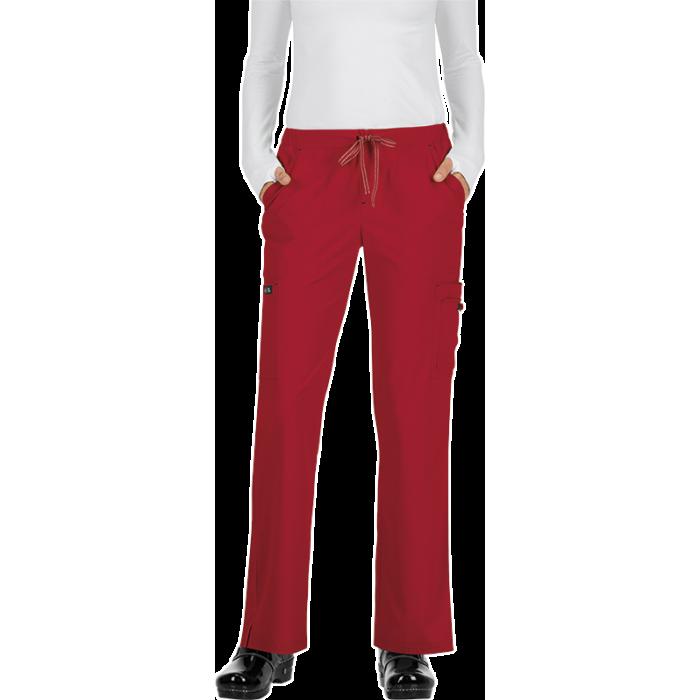 Pantalones sanitarios tallas grandes color rojo