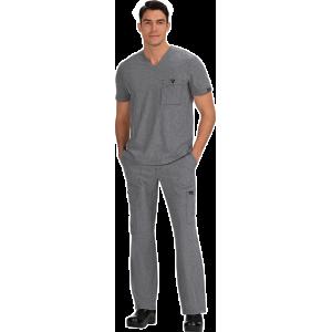 uniformes medicos en España economicos gris claro