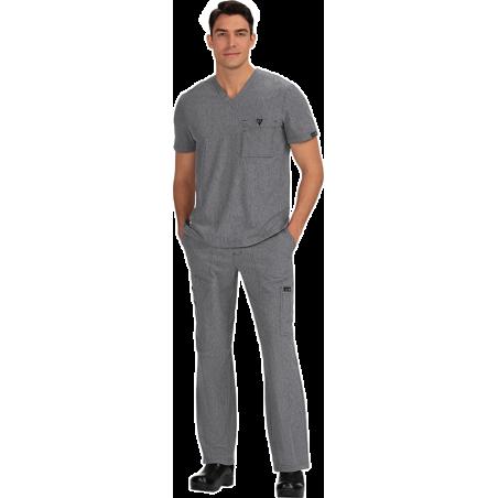 uniformes sanitarios para hombre color verde