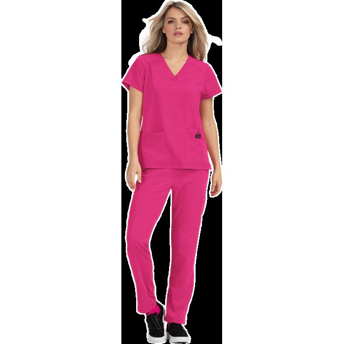 uniforme sanitario gris de hombre