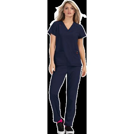 uniforme medico de algodon moderno