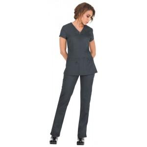 Uniforme sanitario enfermeria gris