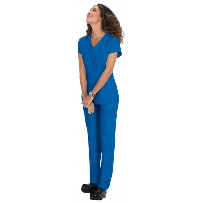 Uniforme sanitario enfermeria azul rey