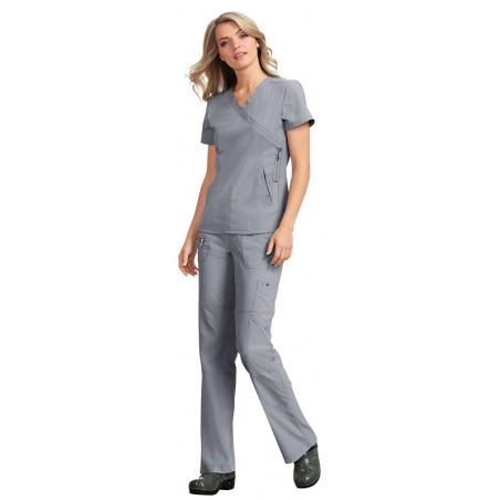 Pijama sanitario Gris Mujer