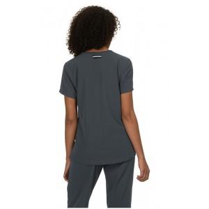 casacas sanitarias mujer koi color gris oscuro parte posterior
