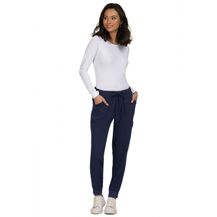 Pantalon Sanitario LINDSEY SLIM LEG malva